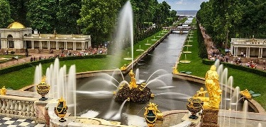 "Half-Day Tour ""Peterhof Fountains"""